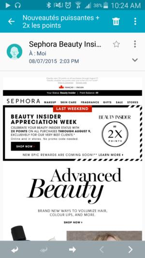 Sephora Mobile
