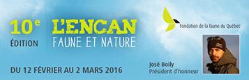 L'Encan faune et nature : faites connaître vos produits lors de la 10e édition !