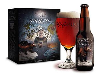 La Rescousse, une bière de chez-nous brassée pour les espèces en danger