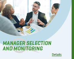 Manager Selection and Monitoring