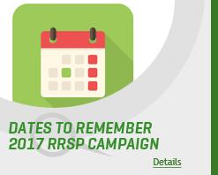 RRSP Deadlines 2017