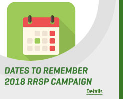 Deadlines RRSP Season 2018