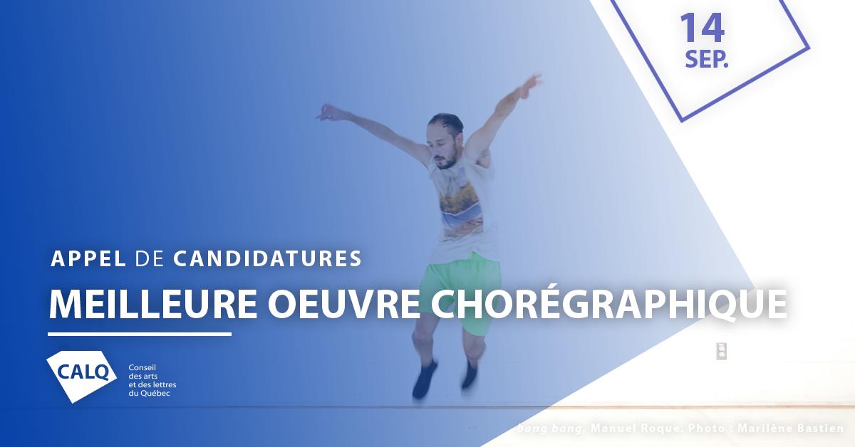 MEILLEURE OEUVRE CHORÉGRAPHIQUE