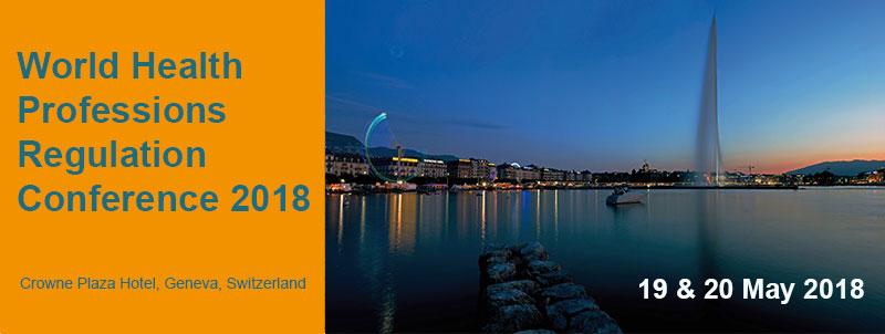 World Health Professions Regulation Conference 2018